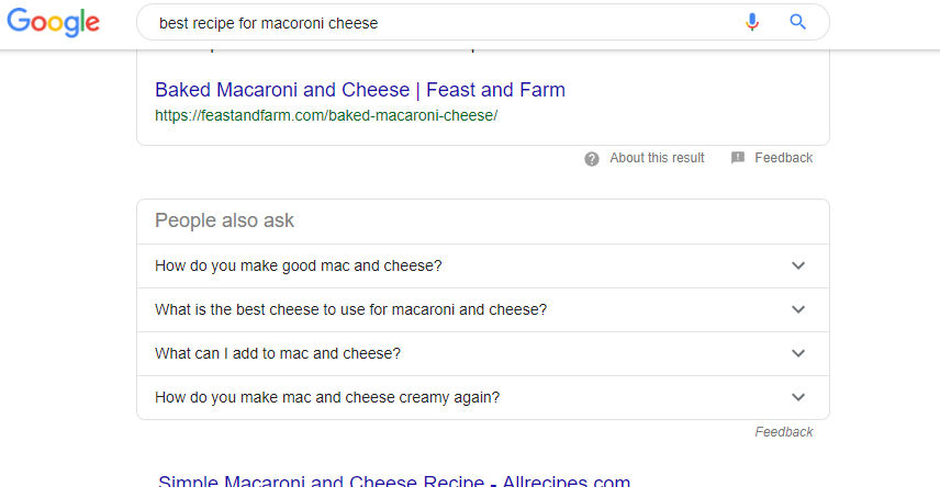 Best recipes for Macoroni cheese screenshot 2